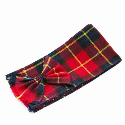 University Women's Mini Tartan Sash